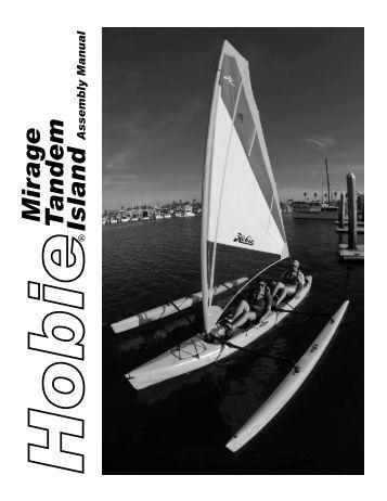 Hobie 16 assembly Manual