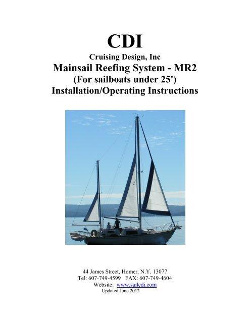 Mainsail Reefing System - MR2 - Cruising Design, Inc