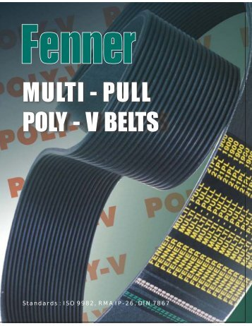 Fenner Multi-Pull Poly-V Belts - CL Shah & Company