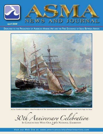 30th Anniversary Celebration - American Society of Marine Artists