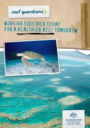 Working together today - Great Barrier Reef Marine Park Authority
