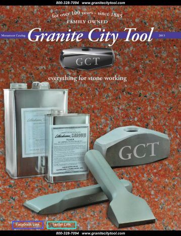Monument Catalog 2013 - Granite City Tool