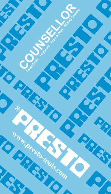 COUNSELLOR - Presto Tools