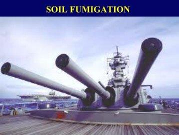 soil fumigants