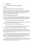 Indicative Draft: The (0-25) Special Educational Needs Code of Practice - Page 6