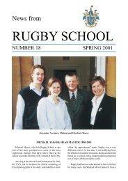 Spring 01 | PDF - Rugby School
