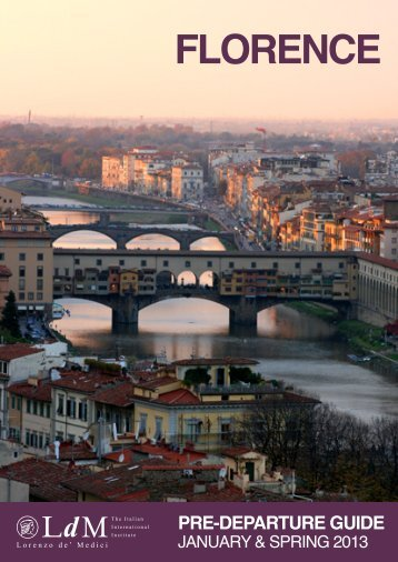 LdM Florence Pre-Departure Guide