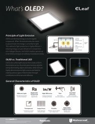 What'sOLED? - Universal Lighting Technologies