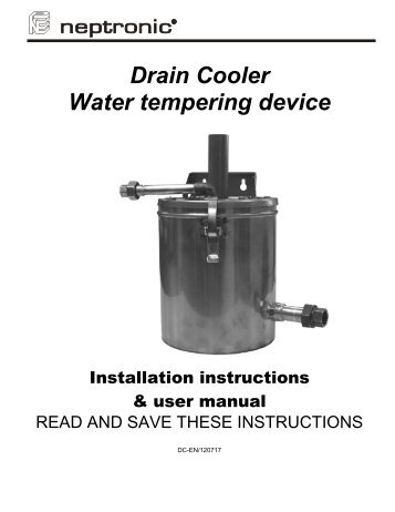 Dct 927 Drain Tempering Kit Pure Humidifier