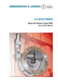 Shut-off Valves Type ZHK - Z&J Technologies GmbH