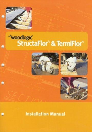 STRUCTAflor Installation Manual - Carter Holt Harvey