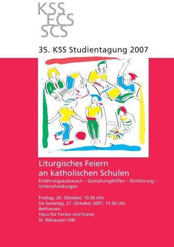 KSS ECS SCS - Katholische Schulen Schweiz KSS