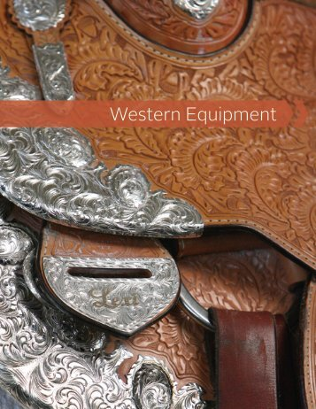 Western Equipment Booklet - The United States Equestrian Federation