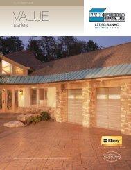Download Product Brochure - Banko Overhead Doors