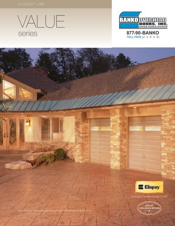 Download Product Brochure - Banko Overhead Doors