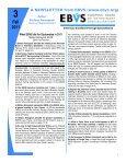Newsletter 3 - EBVS - Page 5