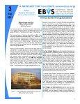 Newsletter 3 - EBVS - Page 6