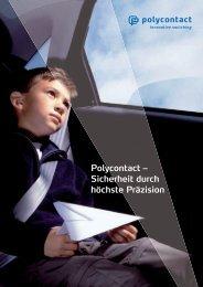 Zuverlässige Detektion für unterschiedliche Bereiche - polycontact