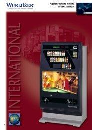 Cigarette Vending Machine INTERNATIONAL M - Gibson