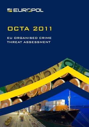 OCTA 2011 - Europol - Europa