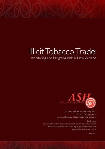 Illicit Tobacco Trade: - ASH