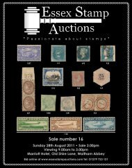Sale number 16 - Essex Stamp Auctions