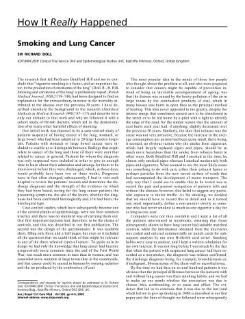 How It Really Happened - American Journal of Respiratory and ...