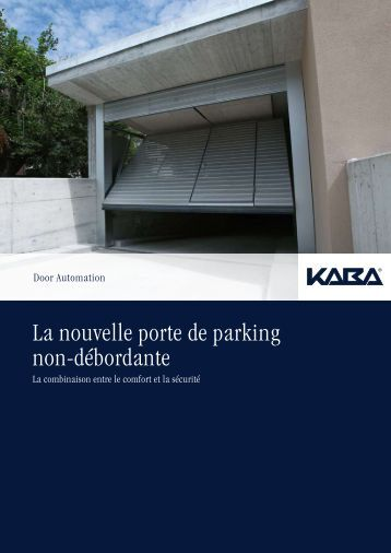 Portes sectionnelles r sidentielles flexidoor for Porte de garage flexidoor