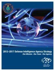 2012–2017 Defense Intelligence Agency Strategy