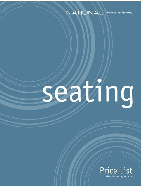 Seating Price List - National Office Furniture