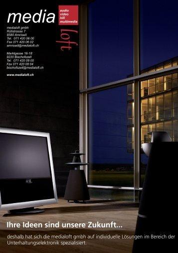 Design aufs Minimum. Sie machen das Design - Medialoft GmbH
