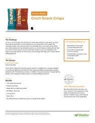 Cinch® Snack Crisps - Shaklee