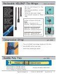 Reclosable VELCRO® Tie-Wraps - SoftCinch - Page 5