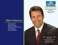 Mike Peterson - Reality Millionaire