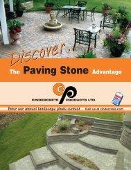 the paving stone - Cindercrete Products Ltd.
