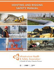 Hoisting and Rigging Safety Manual - Construction Safety ...