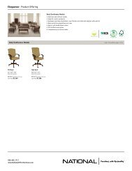 Eloquence Product Offering - National Office Furniture