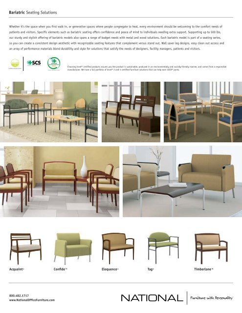 Bariatric Sales Sheet - National Office Furniture