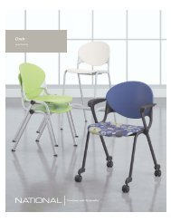 Cinch Brochure - National Office Furniture