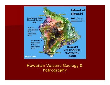 28) Hawaiian Volcano Geology & Petrography - Page 1