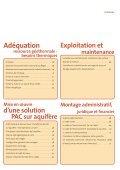 Pompe à chaleur géothermique sur aquifère - Géothermie ... - Page 5