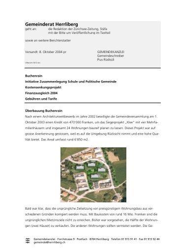 Forchstrasse 9 - Gemeinde Herrliberg