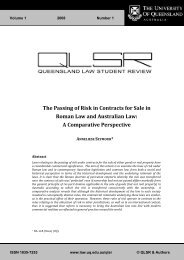 The Passing of Risk in Contracts for Sale in Roman Law and ...
