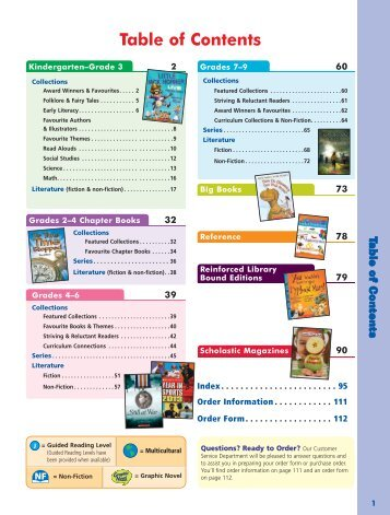 2013 Literature & Collections Catalogue (complete) - Scholastic ...