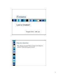 Fixtures - faculty.law.ubc.ca
