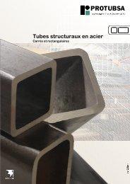Tubes carrés et rectangulaires - Protubsa