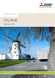 City Multi | Brochure commerciale 2011 ( PDF, 6 ... - Mitsubishi Electric