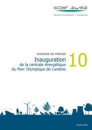 Inauguration - GDF Suez