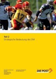 Strategische Bedeutung des DM (Teil 2) - Die Schweizerische Post