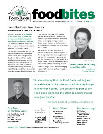 F B - The Food Bank for Monterey County